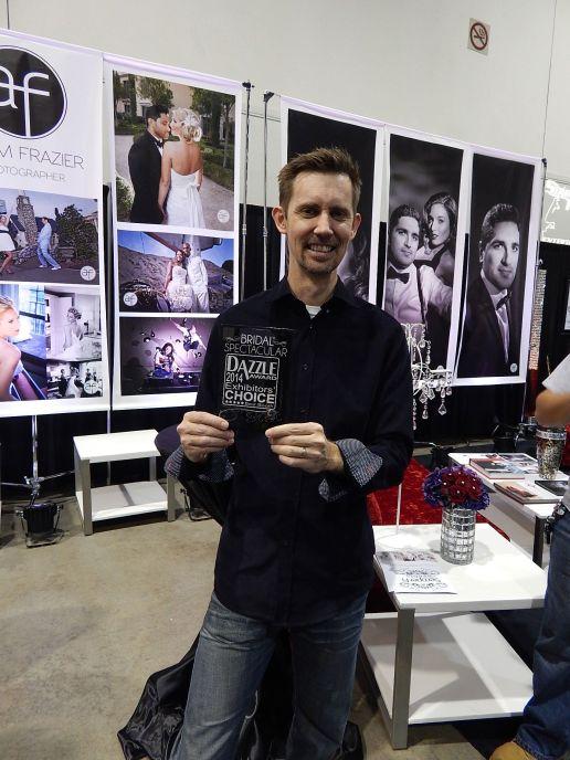 Adam Frazier wins Dazzle Award
