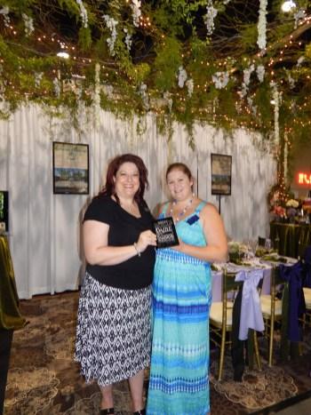 Receiving Dazzle Award