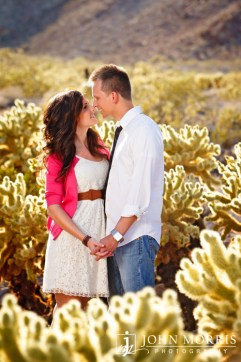 Engagement Photos in The Las Vegas Desert by John Morris