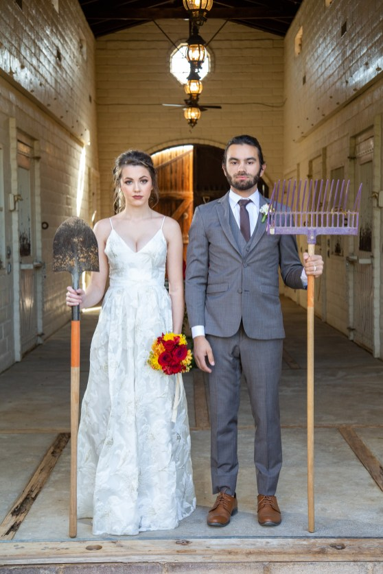 The American Gothic at The Farm by KSE