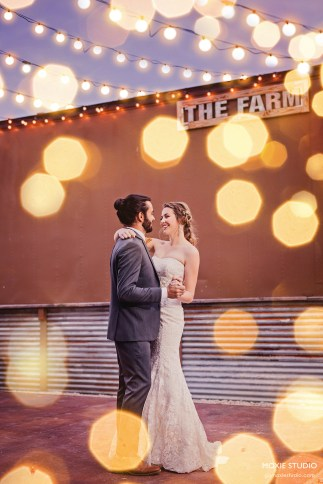First Dance at The Farm by Moxie Studio