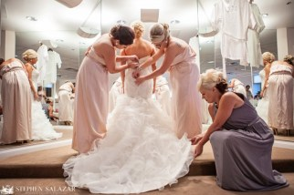 Bridemaids Getting It Just Right