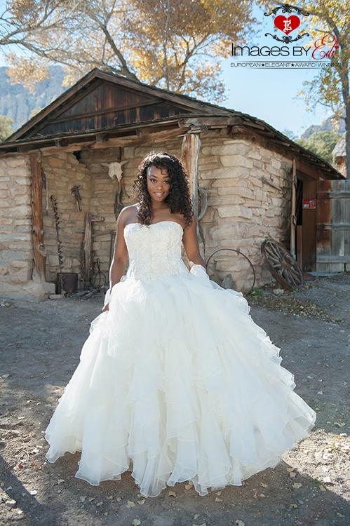 Spectacular Bride at Spring Mountain Ranch
