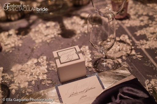Wedding Design: Glitterati Weddings & Events | Floral: Jovani Linens | Rentals: Current Events / Jovani Linens