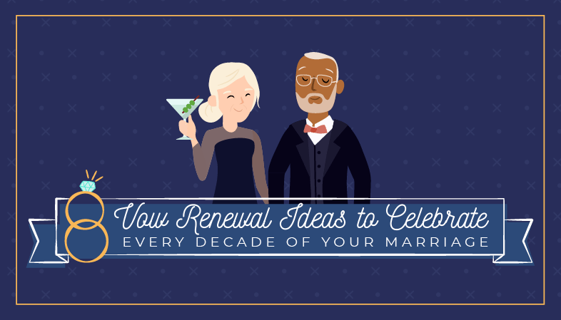 8 Vow Renewal Ideas To Celebrate Every Decade Of Your