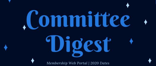 Committee Digest October 19