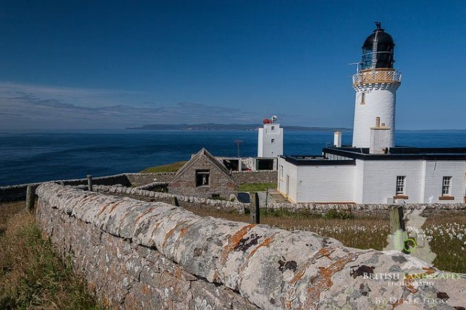 Looking across the Pentland Firth to Orkney from Dunnet Head Lighthouse