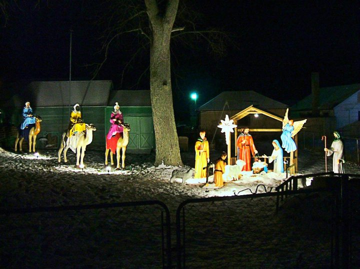 Beverly A. Tyria Memorial Nativity Scene Dec. 2015