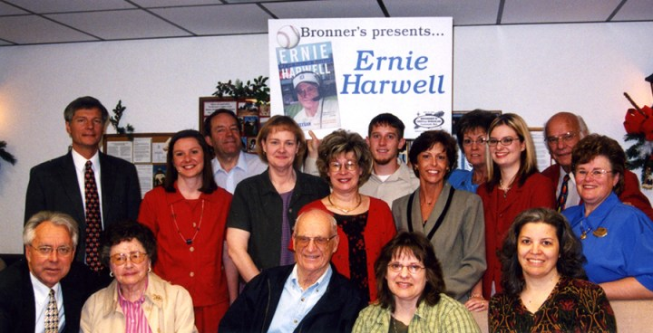 bronner group with Ernie Harwell