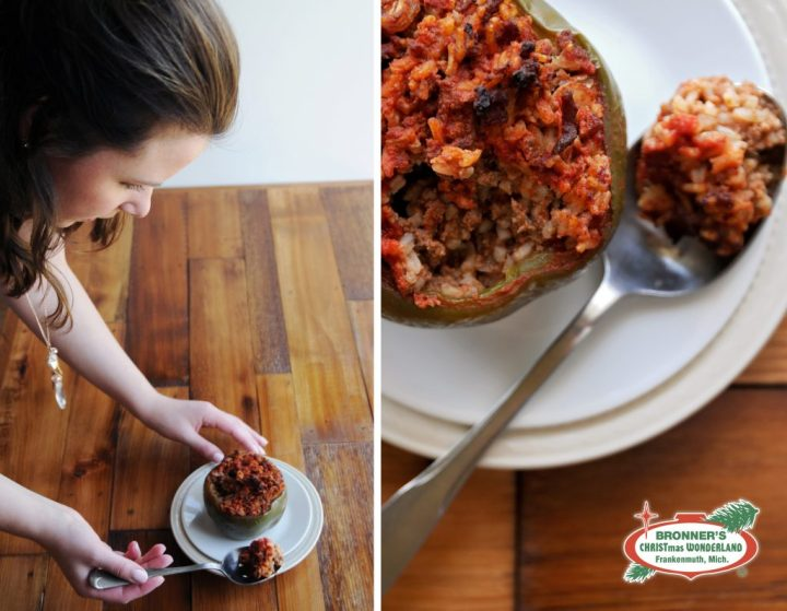 Stuffed Peppers Recipe, Food Styling With Erin