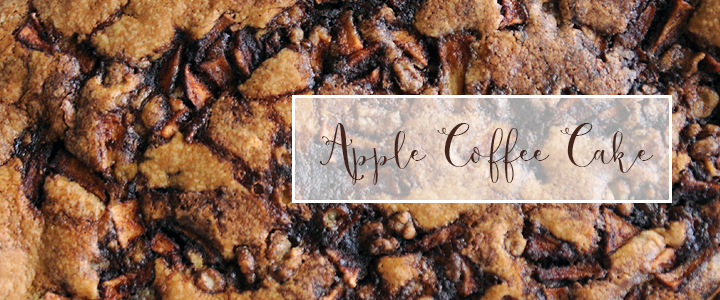 Falling In Love With The Flavors Of Fall … Coffee Cake + DIY Edition