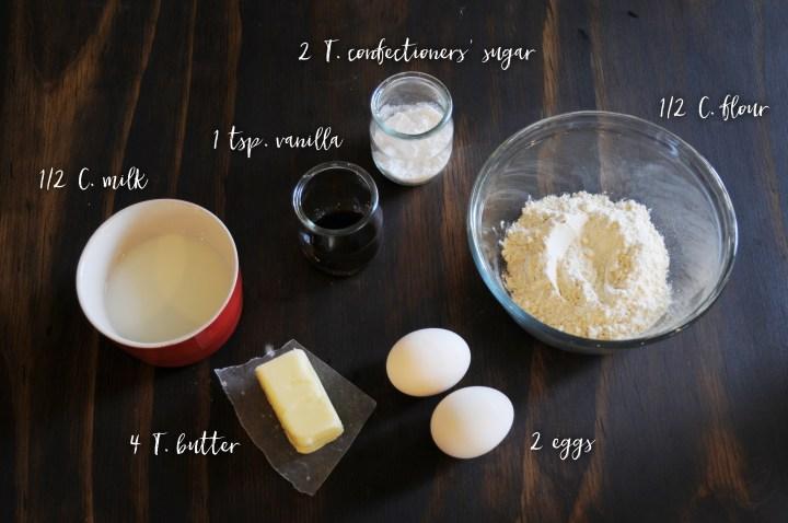 Pancake Ingredients