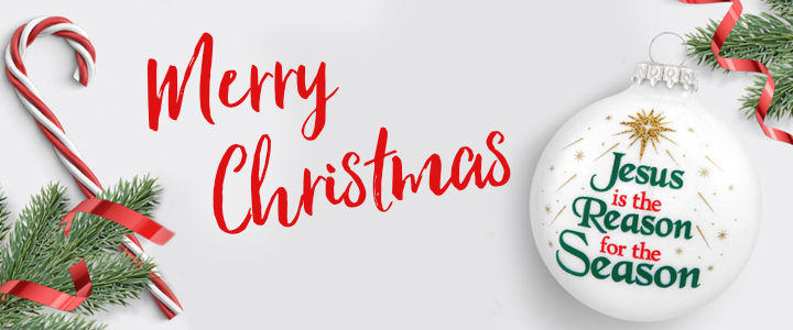 We Wish You a Very Merry CHRISTmas!