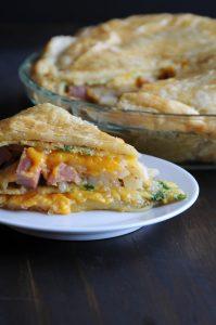 Hm Omelette Pie Recipe Slice