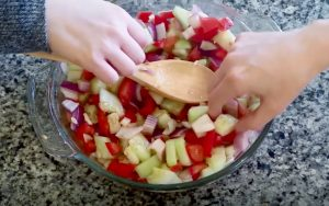 Bronner's Cucumber Salad Recipe