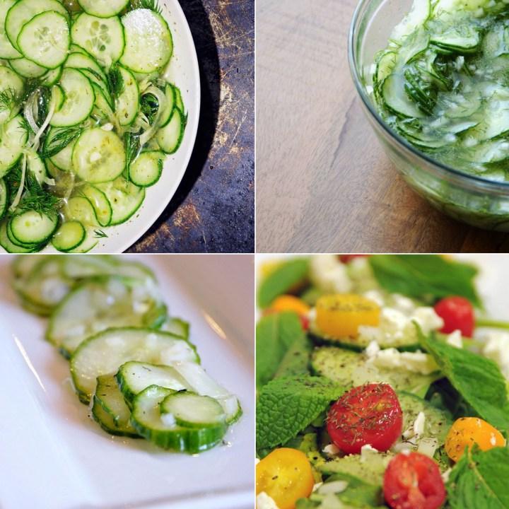 Cucumber Salads