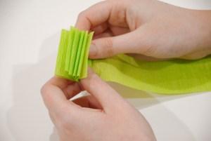 Accordion Fold Crepe Paper