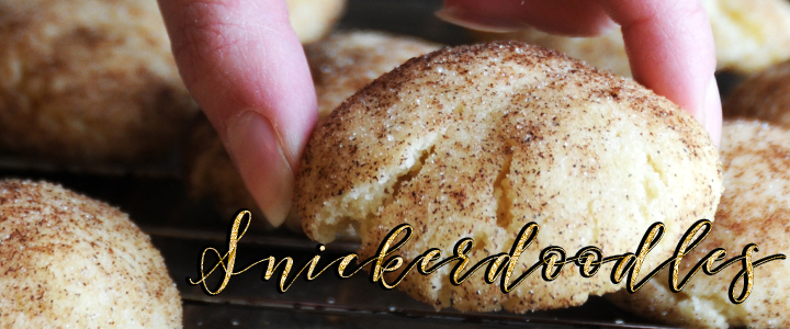 Snickerdoodles Thief … Nothing To Snicker At! + Recipe