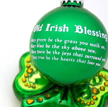 Irish Ornaments From Bronner's Christmas Wonderland