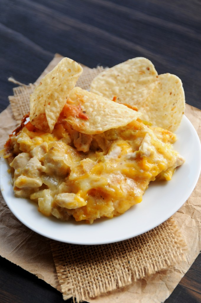 Texas Cowgirl Lasagna With Tortilla Chips