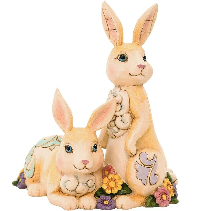 Jim Shore Honey Bunnies Figurine From Bronner's Christmas Wonderland