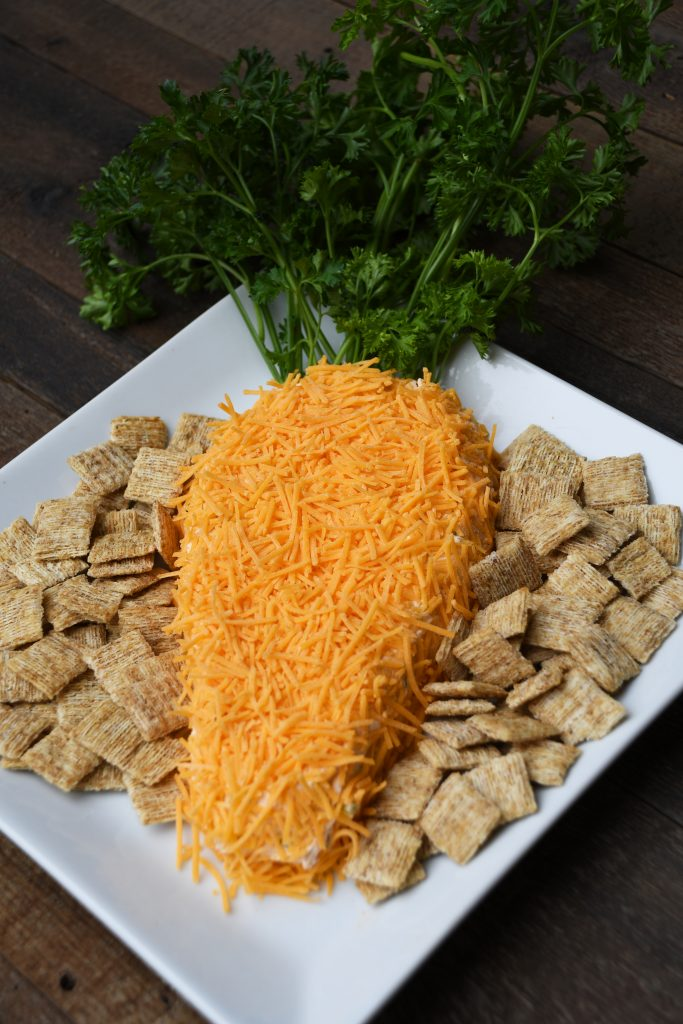 Carrot-Shaped Cheese Spread Recipe