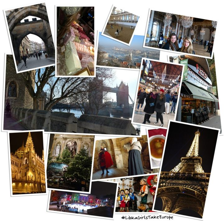 #LibkaGirlsTakeEurope, London, Paris, Budapest, Vienna and Prague