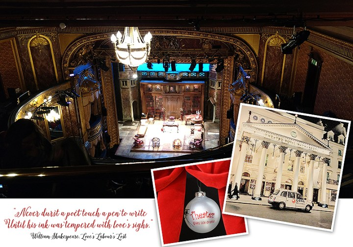 William Shakespeare At Theatre Royal In London, England