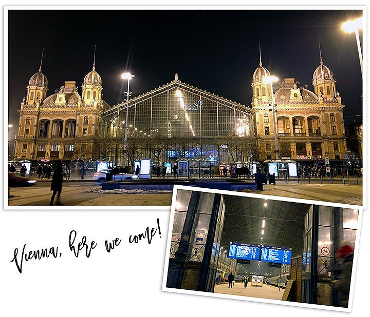 Keleti Train Station, Vienna here we come! #LibkaGirlsTakeEurope