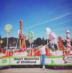 Bronner's 2016 Parade Float