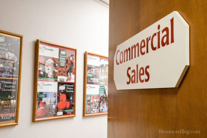 Behind The Scenes: Bronner's Commercial Department