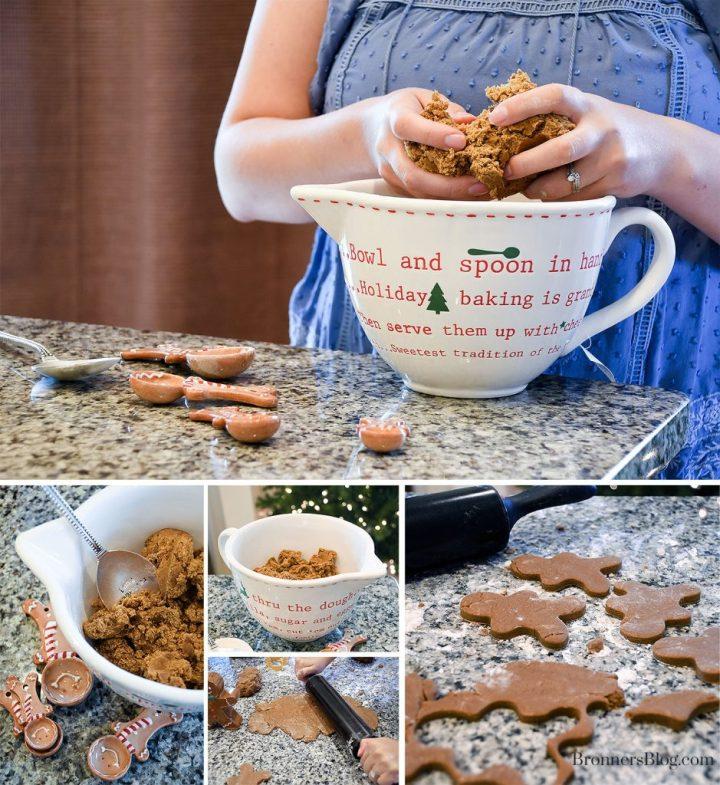 Making Gingerbread Cookies