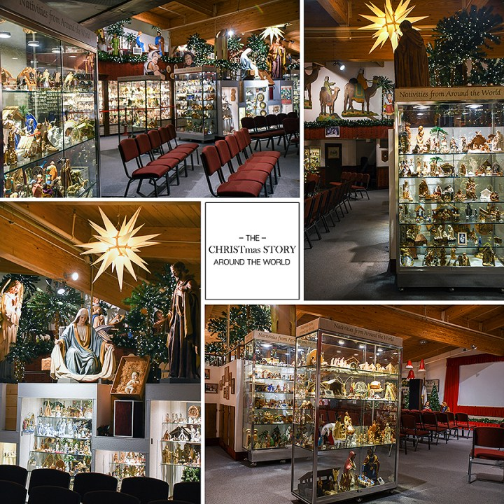 Bronner's Program Center Features Nativities From all Around The World On Display.