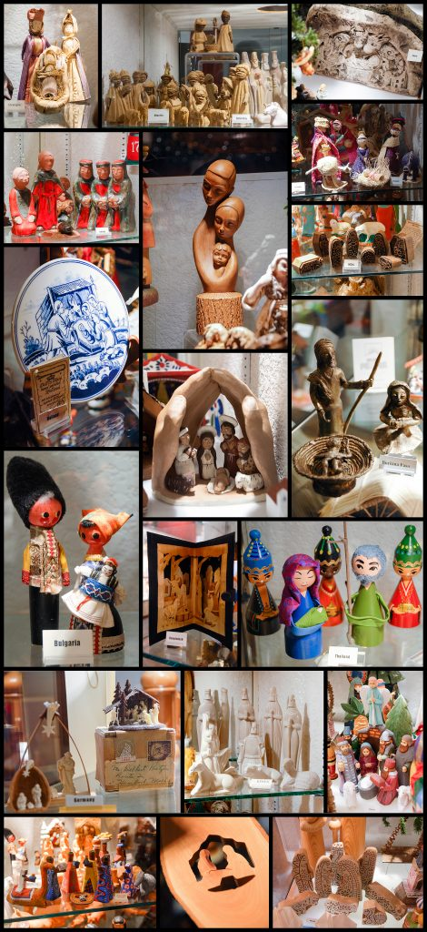 Hand-Crafted Nativities From All Over The World.