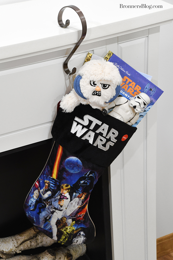 Star Wars A New Hope Christmas stocking