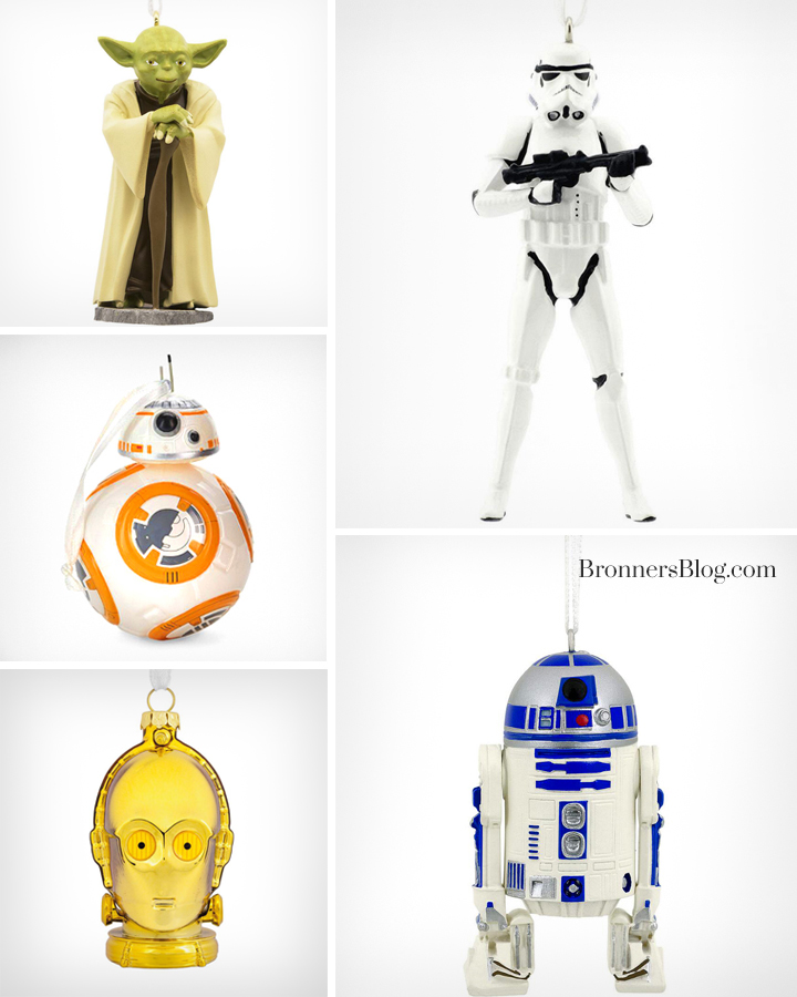 Star Wars Hallmark Ornaments