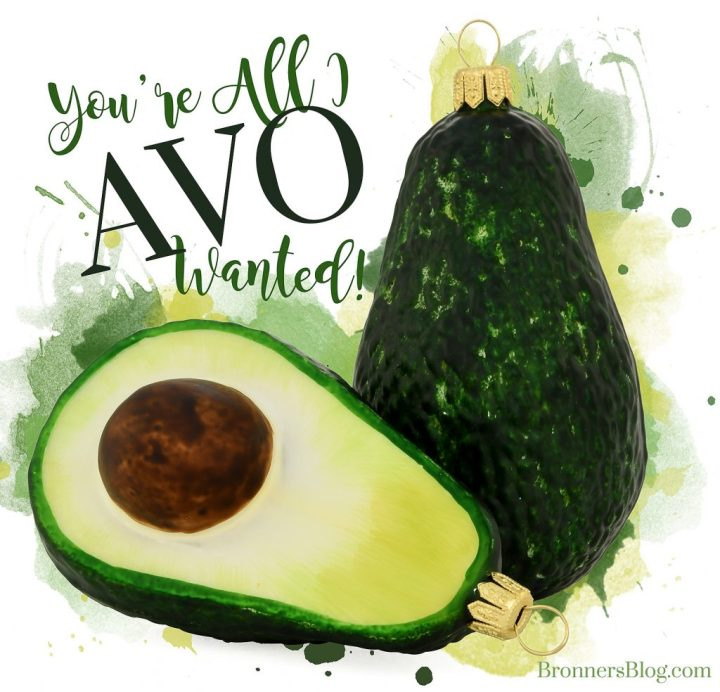 You're All I Avo Wanted.