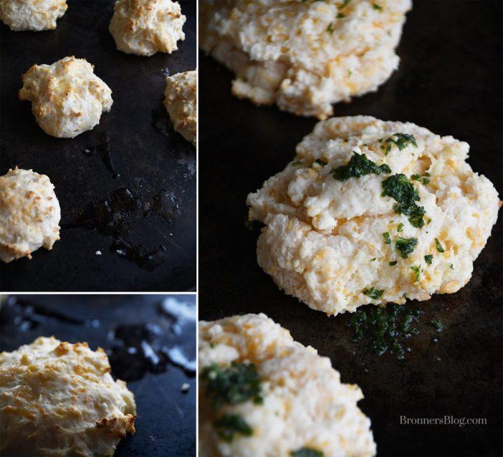 Cheesy Garlic Biscuits Recipe, 2 Variations.