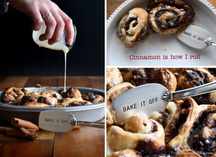 Bronner's Christmas Wonderland's Easy cinnamon Rolls Recipe