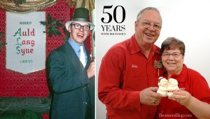 Bronner's Christmas Wonderland's First Employee To Celebrate 50 Years Employment.
