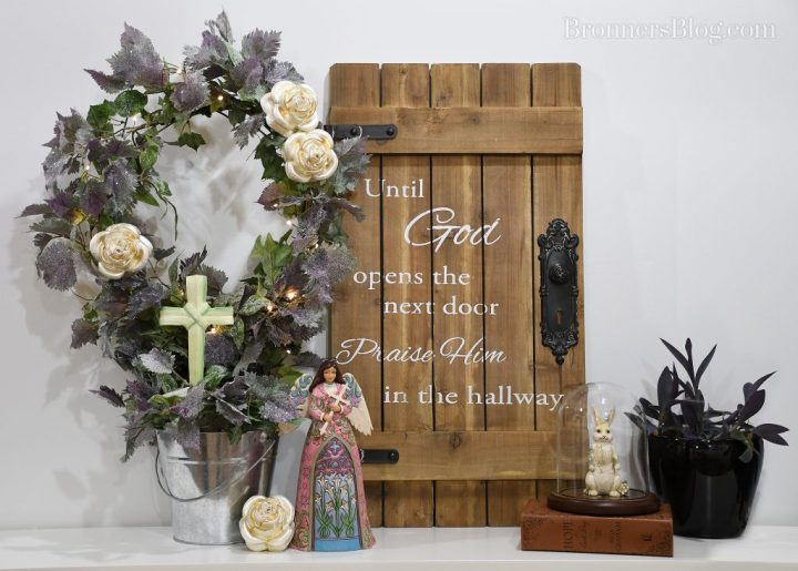 Religious home decor display ideas