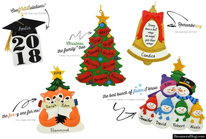 Five New Exclusive Resin Ornament Designs To Bronner's Christmas Wonderland In 2018