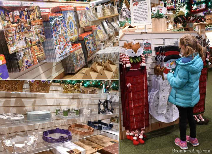 Advent Calendars And Wreaths Available At Bronner's Christmas Wonderland In Frankenmuth, Michigan.