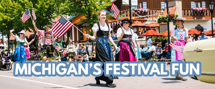 Michigan's Festival Fun | Spring & Summer