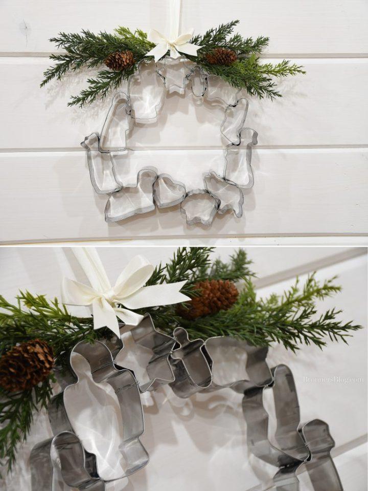 Bronner's Nativity Cookie Cutter Set DIY Wreath