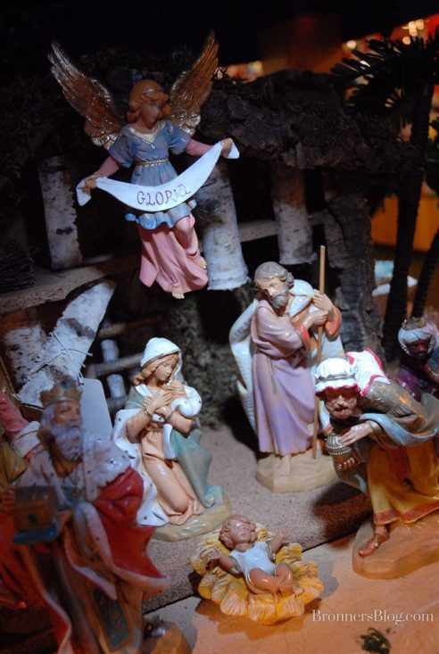 "Fontanini 7.5"" Nativity collection tells of the birth of Christ."