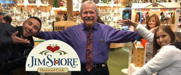 Jim Shore at Bronner's!
