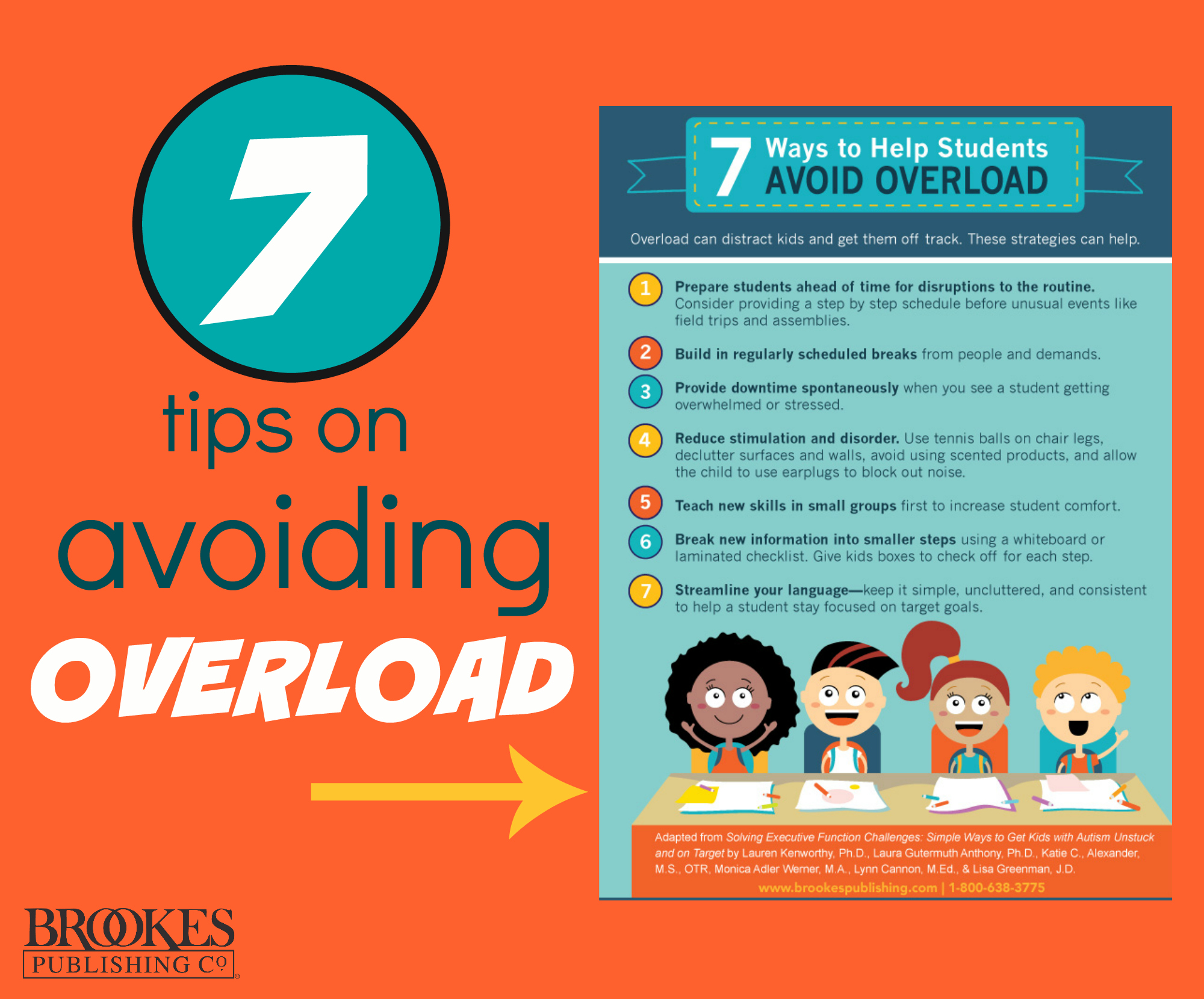 7 Tips For Helping Students Avoid Overload