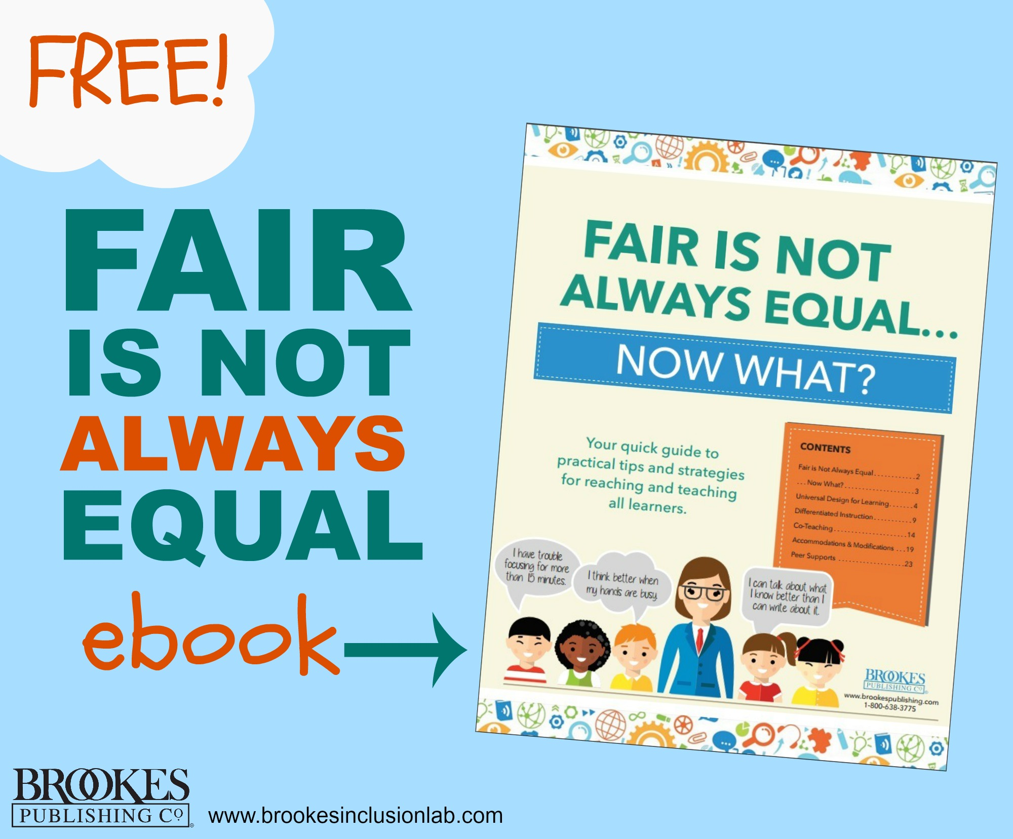 Free Ebook Fair Is Not Always Equal Now What