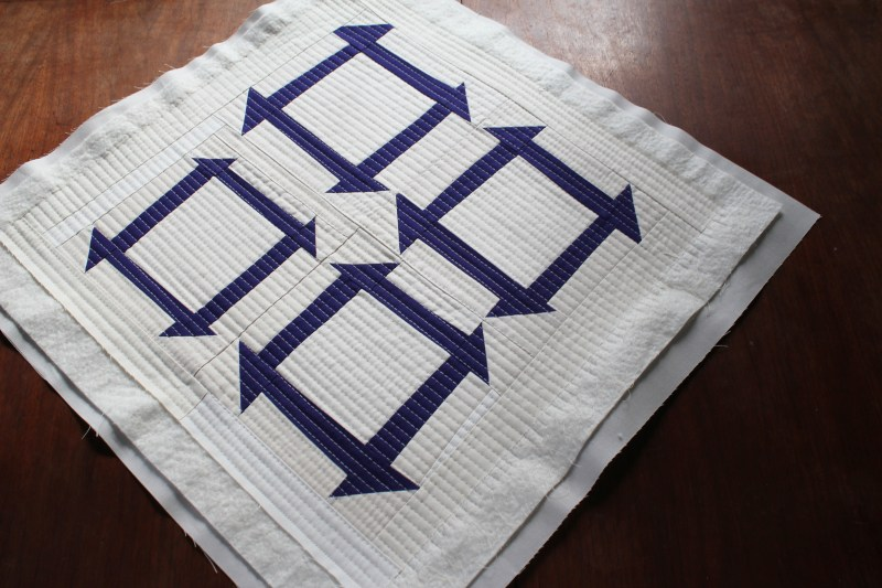 23 front quilted